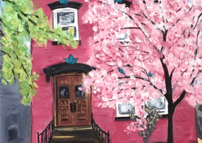 Pink House of Cucumber Alley
